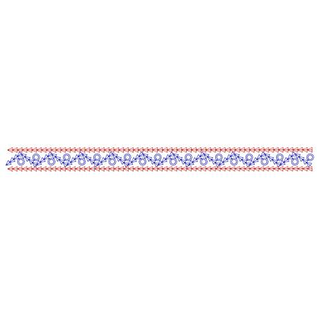 Simple Motif Seamless Border