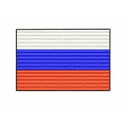Russia National Flag Embroidery design