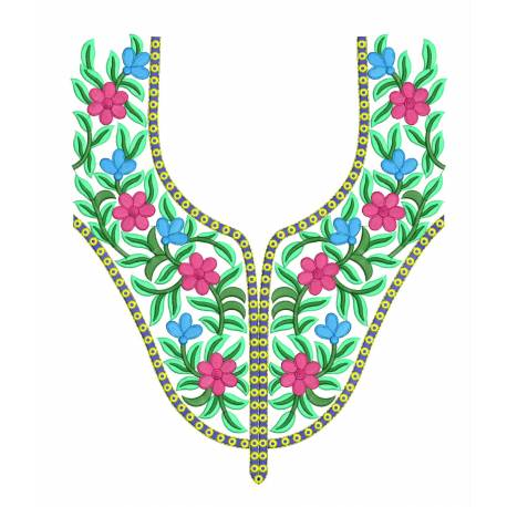 Neckline Embroidery Design 2020