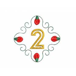 Christmas Monogram Number 2
