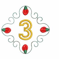Christmas Monogram Number 3