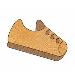 Laceless Shoe Free Embroidery Design