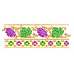 Necklines With Border Machine Embroidery Set Design