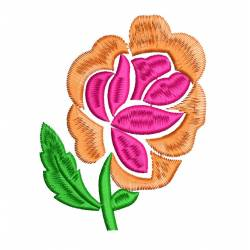 Beautiful Rose Flower Embroidery Design