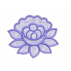 New 4x4 Flower Embroidery Design