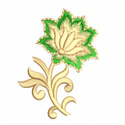 New Lotus Flower Embroidery Design