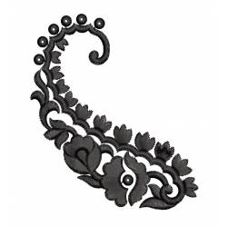 New Freebie Paisley Embroidery Design
