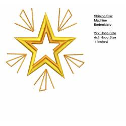 Shining Star Outlines Machine Embroidery Set