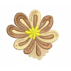 New Delight Flower Embroidery For Clutches