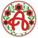OLD ALPHANUMERIC EMBROIDERY DESIGNS